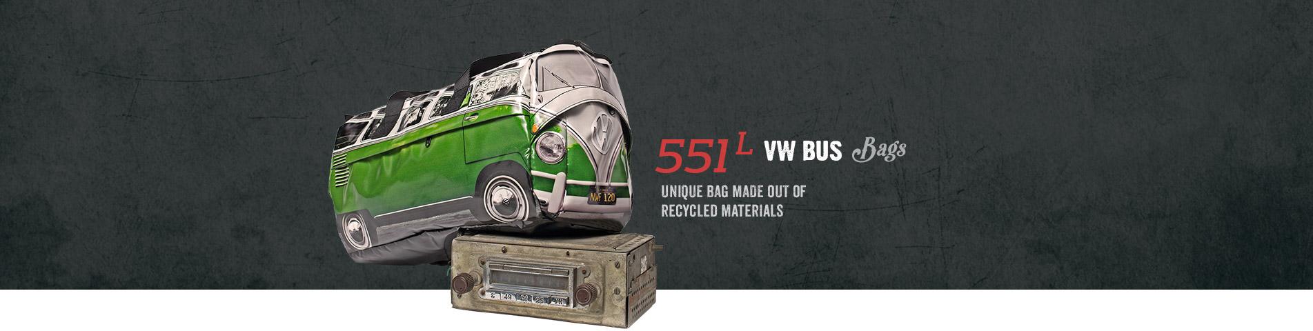 551 L VW Bus Bags