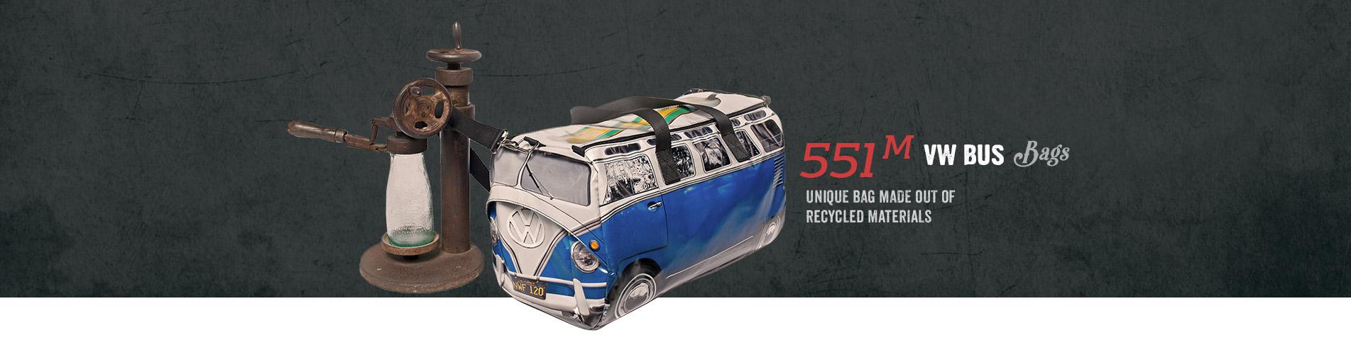 551 M VW Bus Bags