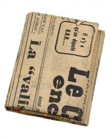 Canard Newspaper Wallet