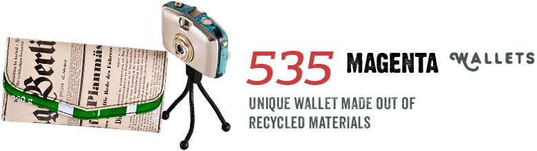 535 Magenta Wallets