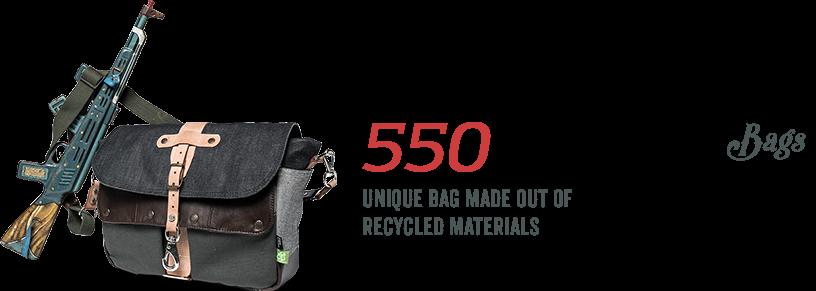 550 Monte Cristo Bags