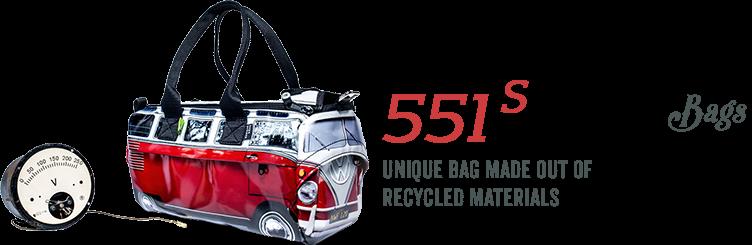551 S VW Bus Bags